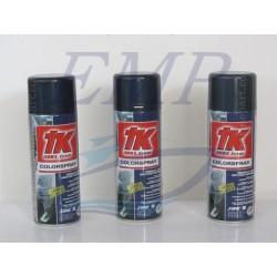 Vernice spray blu Selva metallizato