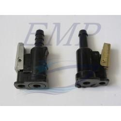 Raccordo tubo carburante 8mm Johnson / Evinrude
