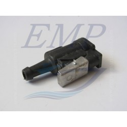 Raccordo tubo carburante femmina 9,5 mm Johnson / Evinrude