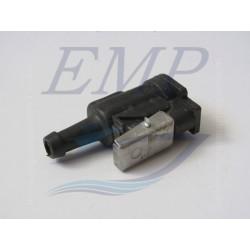 Raccordo tubo carburante femmina 9,5 mm Johnson / Evinrude