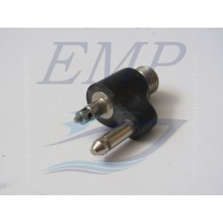 Raccordo tubo carburante maschio 1/4 NPT Johnson / Evinrude