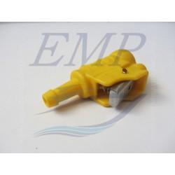 Raccordo tubo carburante femmina 8 mm Johnson / Evinrude