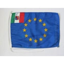 Bandiera Euro - Italia  20 x 30 cm