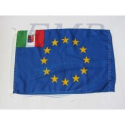 Bandiera Euro - Italia  30 x 45 cm