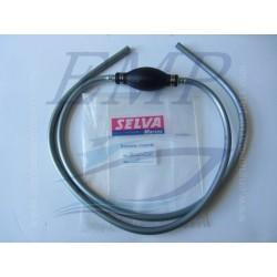 Tubo carburante al silicone con pompa  Selva 8050270