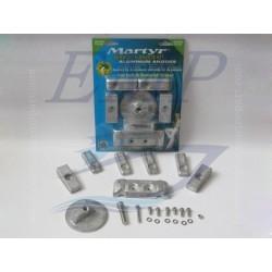 Kit anodi in alluminio Mercury, Mariner