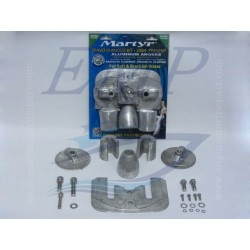 Kit anodi in alluminio Bravo III