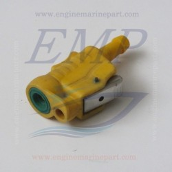 Raccordo tubo carburante 8 mm lato serbatoio o motore Mercury, Mariner e Yamaha