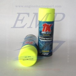 Vernice spray giallo fluorescente 40072