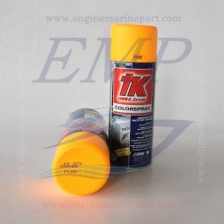 Vernice spray arancio fluorescente 40073