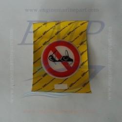 Adesivo divieto reggiseno (rilievo) 52.52177
