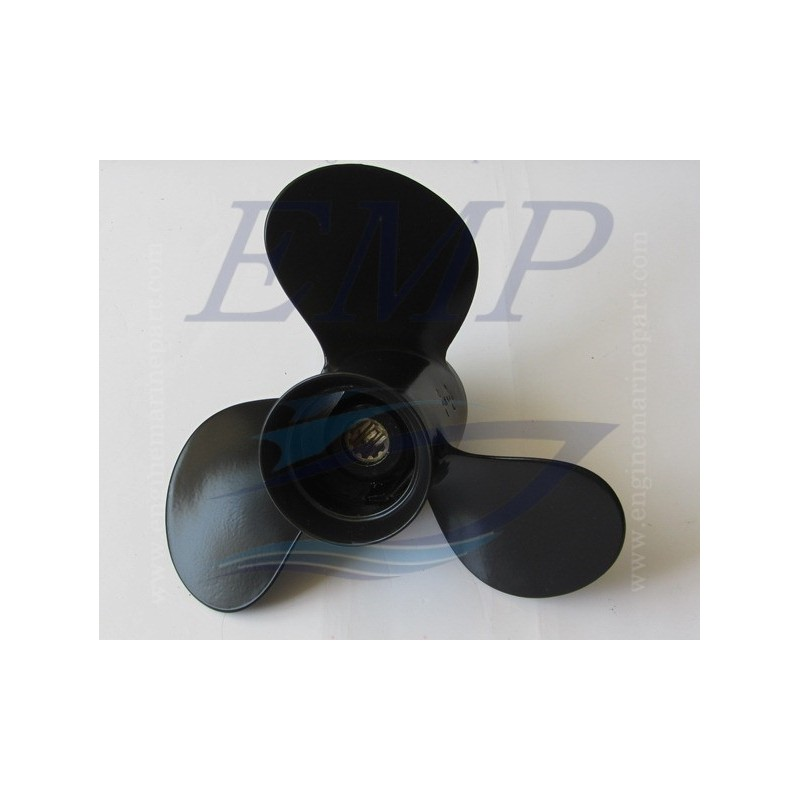 Elica 9 7/8 x 10 1/2 Black Diamond Yamaha 664-45945-00-EL