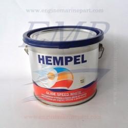 Antivegetativa a matrice dura Hempel Glide Speed White - 2,5 lt