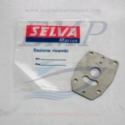 Piastrina corpo pompa Selva 9006030