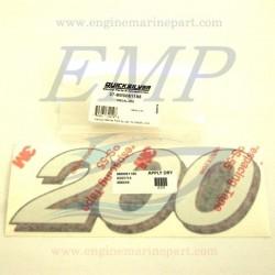 Adesivo Mercury Hp 200 8M0061185