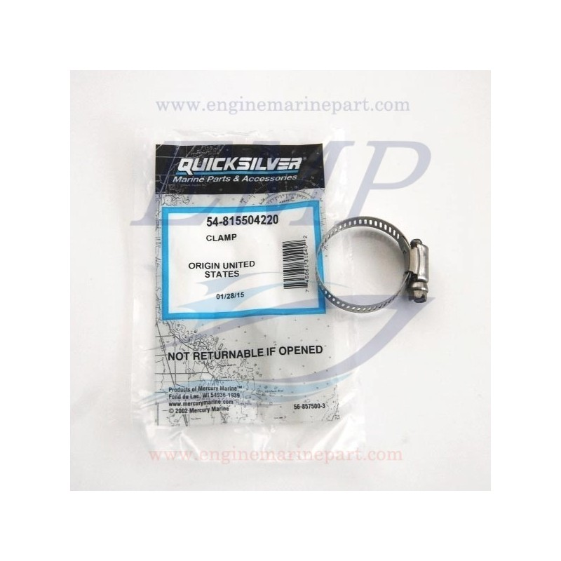Fascetta metallica Mercruiser 815504220