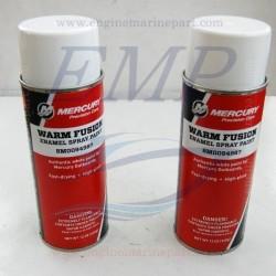 Vernice spray white Warm Fusion Mercury, Mariner 8M0094987