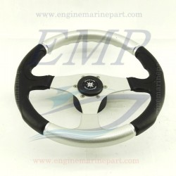 Volante Evolution Nero / Argento diam. 355 mm