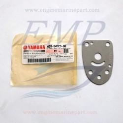 Piastrina in acciaio corpo pompa Yamaha / Selva 6EG-44323-00