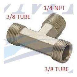 Raccordo a T da 1/4 NPT Teleflex HF5536