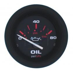 Pressione olio Amega Domed 0-80 psi Teleflex
