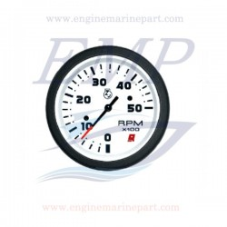 Contagiri  Admiral Plus white 0-5000 RPM
