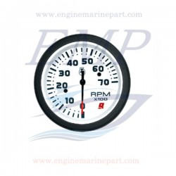 Contagiri  Admiral Plus white 0-7000 RPM