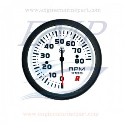 Contagiri Admiral Plus white 0-8000 RPM