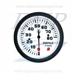 Contagiri Admiral Plus white 0-8000 RPM