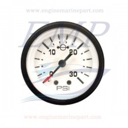 Indicatore pressione acqua Admiral Plus white 0-30