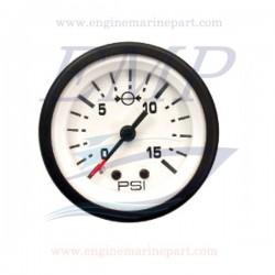 Indicatore pressione acqua Admiral Plus white 0-15 psi