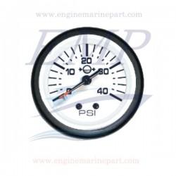 Indicatore pressione acqua Admiral Plus white 0-40 psi