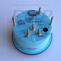Contagiri  Admiral Plus white 0-6000 RPM