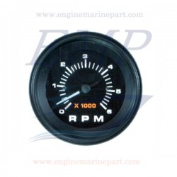 Contagiri Admiral Plus white 0-6000 RPM