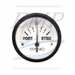 Indicatore trim Admiral Plus white