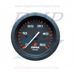 Contagiri Admiral Plus Black 0-5000 RPM