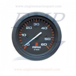 Contagiri Admiral Plus Black 0-6000 RPM