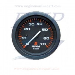 Contagiri Admiral Plus black 0-7000 RPM