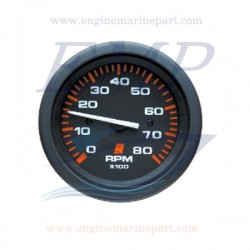Contagiri Admiral Plus black 0-8000 RPM