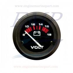 Voltometro Admiral Plus white 8-18 Volt