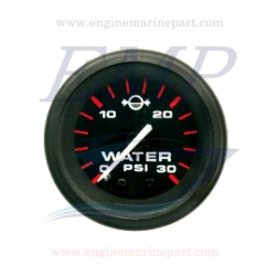 Indicatore pressione acqua Admiral Plus Black 0-30 psi