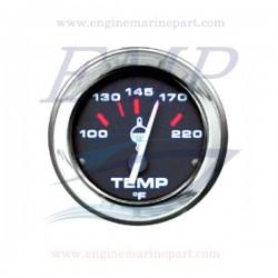 Indicatore temperatura acqua Admiral Plus black chrome 100-220 F
