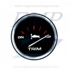 Indicatore trim Admiral Plus black chrome