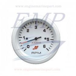 Contagiri Flagship Plus white 0-6000 RPM