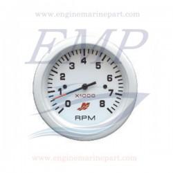 Contagiri Flagship Plus white 0-8000 RPM