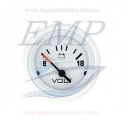Voltometro Flagship Plus white 8-18 Volt