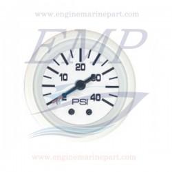 Indicatore pressione acqua Flagship Plus white 0-40 psi