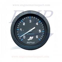 Contagiri Flagship Plus black 0-6000 RPM