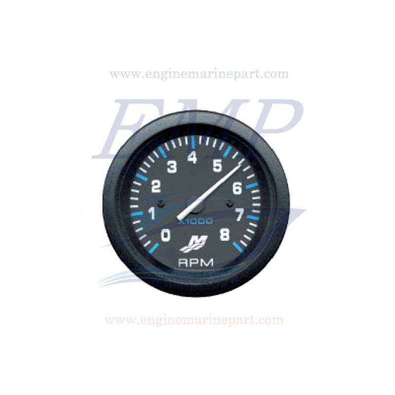 Contagiri Flagship Plus black 0-8000 RPM