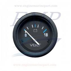 Voltometro Flagship Plus black 8-18 Volt